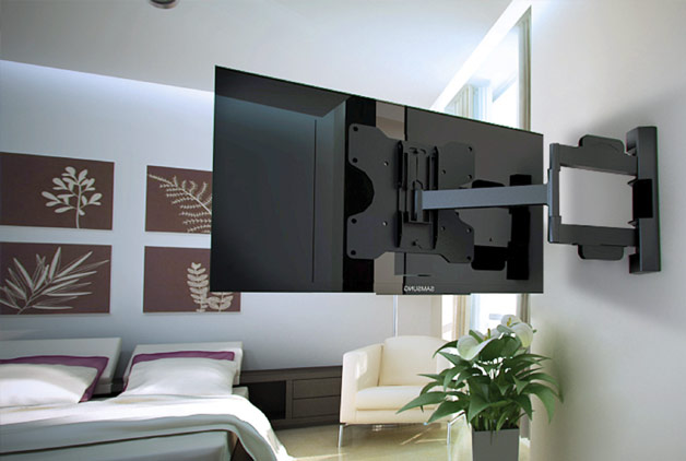 How To Hang A Tv Wall Mount wall mounted tv images